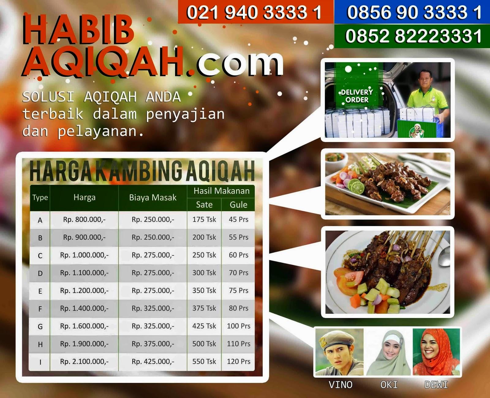 Jasa Catering Aqiqah Pamulang