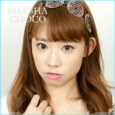 Shasha Choco Toric Contact Lens for Astigmatism at ohmylens.com
