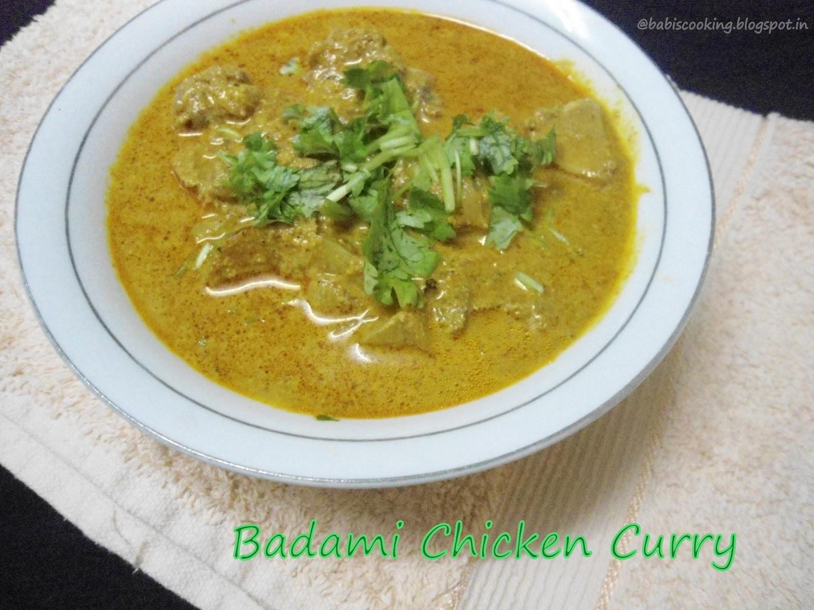 Badami chicken