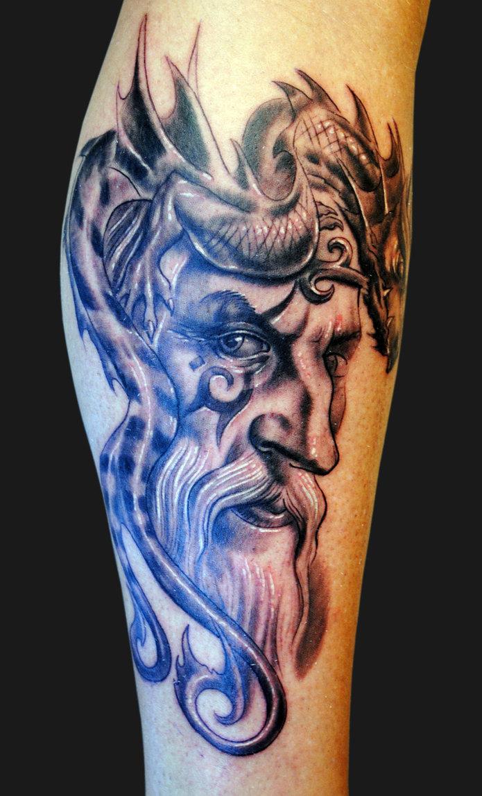Wizard tattoo fresh tattoo ideas for Wizard tattoo designs
