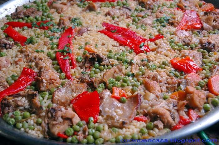 Cocino en casa conejo con arroz - Casa conejo ...