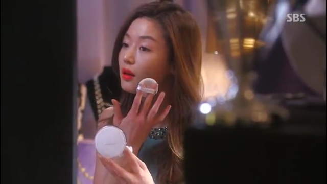 Image of Jun Ji Hyun - Iope Air Cushion Cheon Song Yi - pinknomenal.blogspot.com