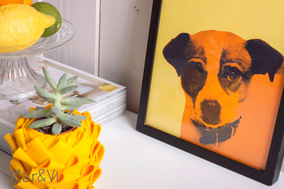 diy:retrato pop art