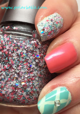glitter, swatch, review, nails, nail art