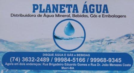 Planeta Água, em Mairi-BA