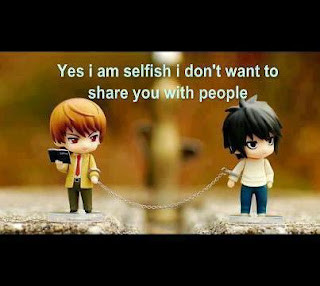 I am selfish