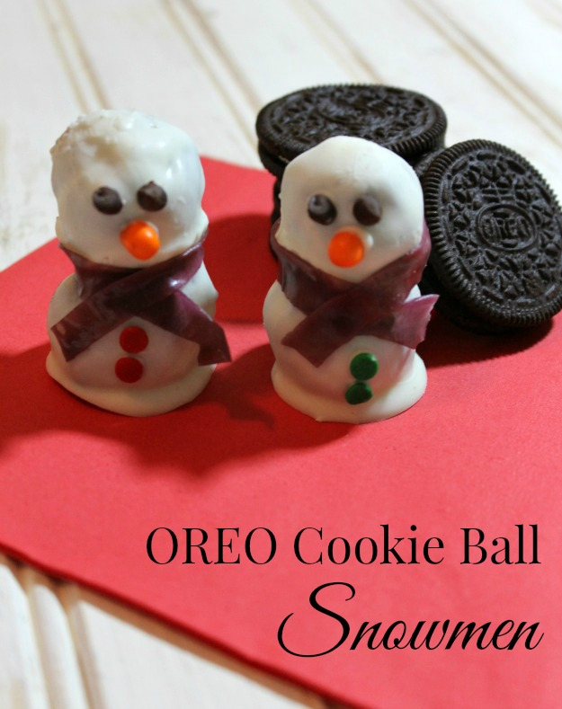 OREO Cookie Ball Snowmen - Outnumbered 3 to 1