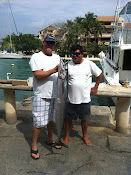 Me and Captain Migelo with a Wahoo.