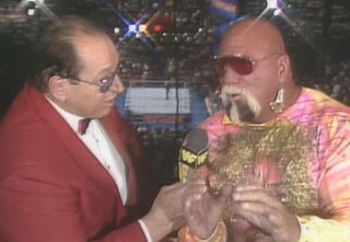 WWE/WWF SUMMERSLAM 1988: Gorillia Monson and 'Superstar' Billy Graham host the show