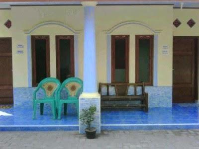 teras homestay Pulau Tidung