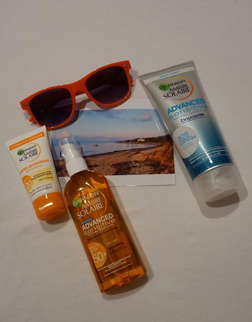 #bloggersummerbox bloggeritalia collaborazione ambre solaire garnier