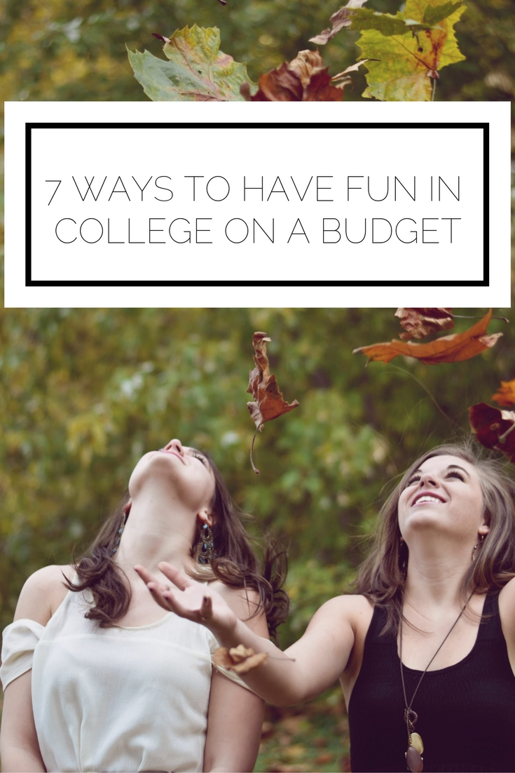 making a college budget
