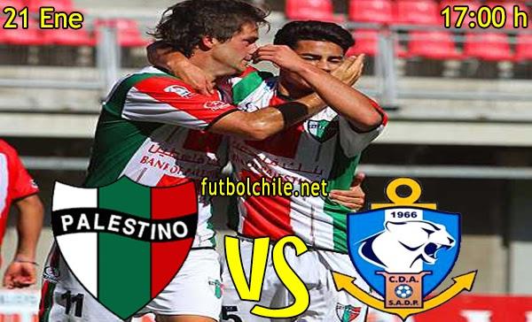 Palestino vs Antofagasta - Copa Chile - 17:00 h - 21/01/2015