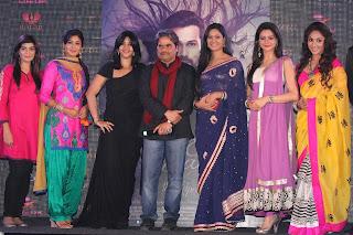 "Cast of Ek Thi Daayan movie promotion at ""Ek Thi Naayak"" serial launch"