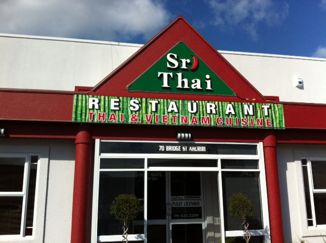 Sri Thai Restaurant   Ahuriri authentic Thai