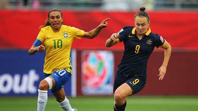 Highlights Brazil 0 – 1 Australia (Women World Cup)