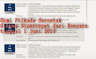 Pilkada serentak : Sidang gugatan UU Pilkada dipercepat Indonesia baru afdol