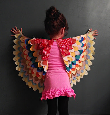 halloween sewing: make wings!
