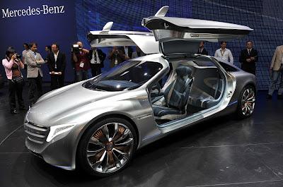 Frankfurt Auto Show 2011 Marcedes F125 Concept