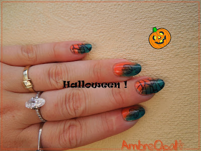 Manucure pré-halloweenienne !