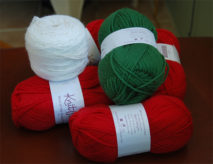 christmas sweater yarn
