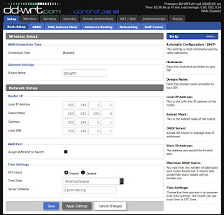dd-wrt assign ip address