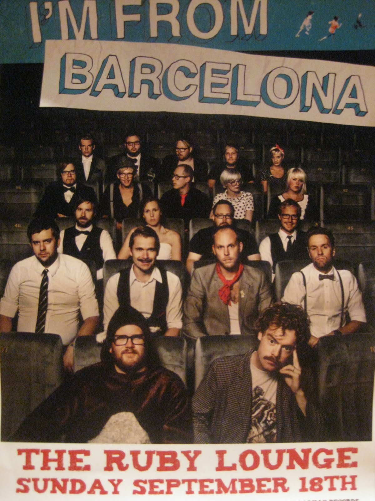 I'M FROM BARCELONA @ THE RUBY