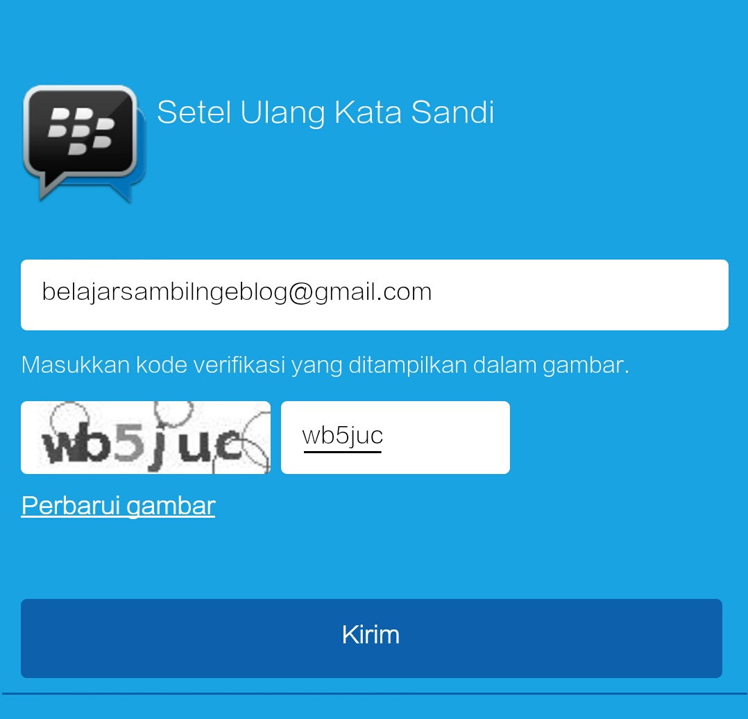 how to change blackberry id password
