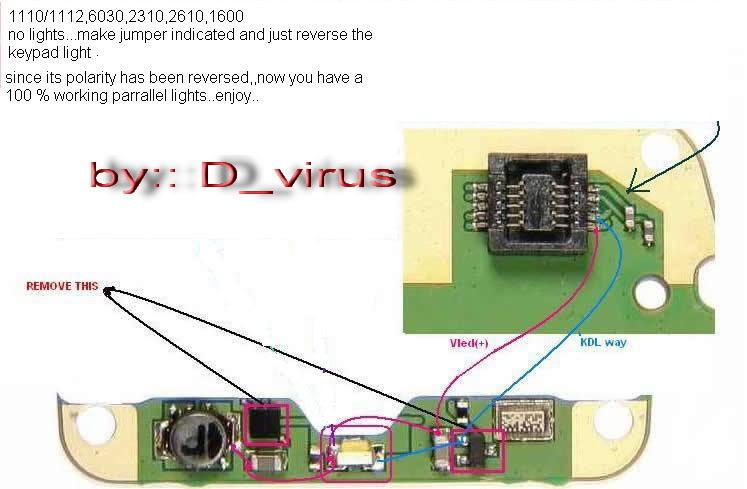 nokia 1110 1110i 1112 1600 lcd led light solution guide for all nokia 6600 manual Nokia 6010
