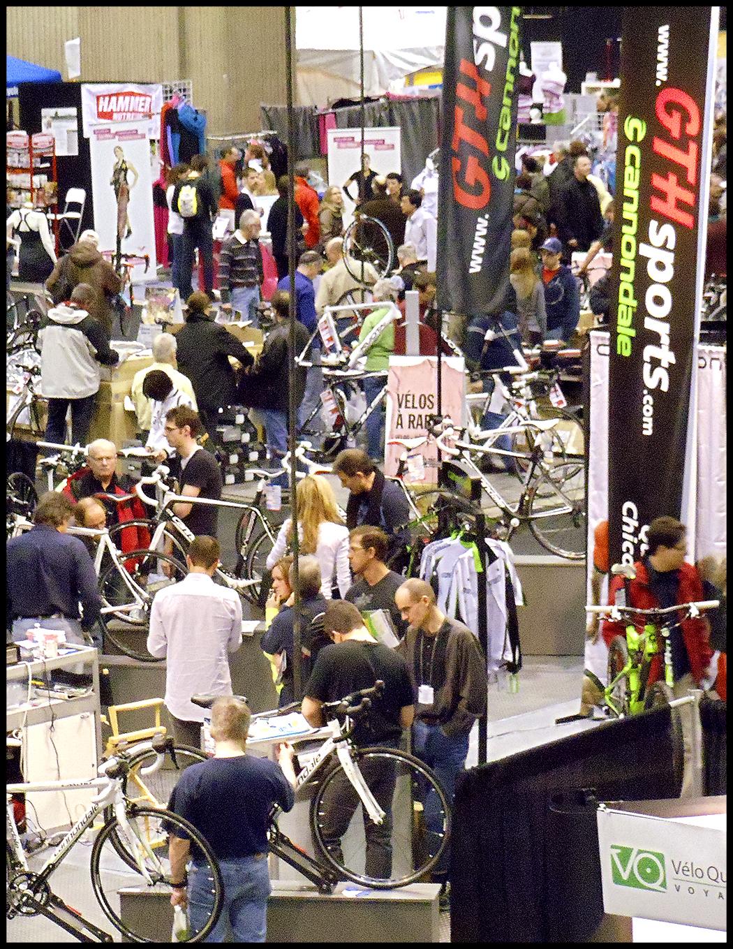 Le salon du v lo de montr al 2012 miroir du cyclisme for Miroir montreal