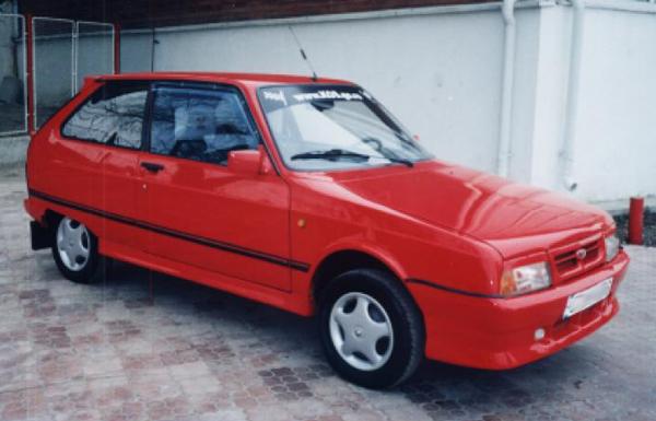 Romanian car Oltcit Club 12 TRS side view