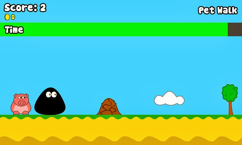 Pet walk for Pou. New game