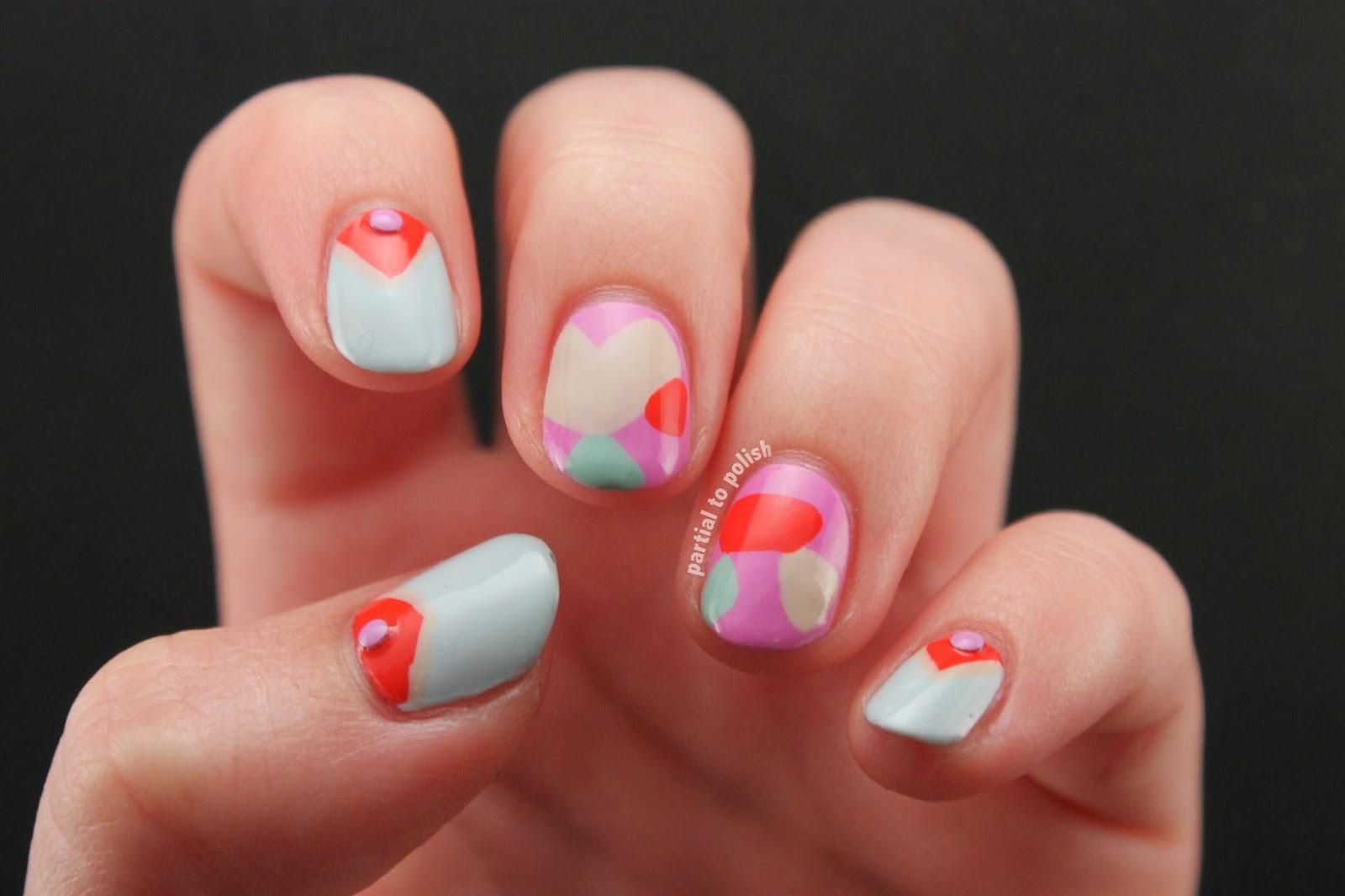 Born Pretty Store Pastel Stud Review & Mr. Candiipants Nail Art