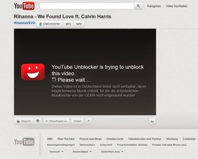youtube videos blocked