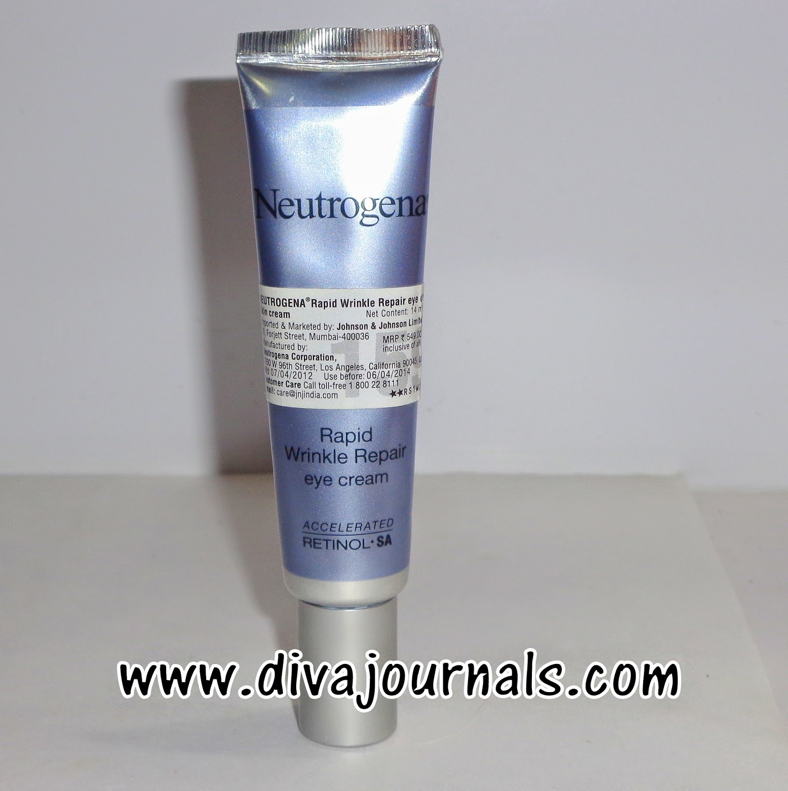Neutrogena Rapid Wrinkle Repair Eye Cream Review
