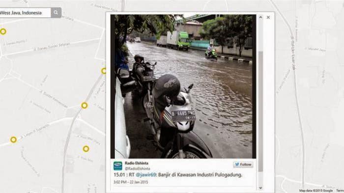 Siaga Banjir, Ayo Laporkan Genangan Air Di Situs SiagaBanjir.org