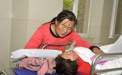 Chinese girl, 4, impales her face on a screwdriver