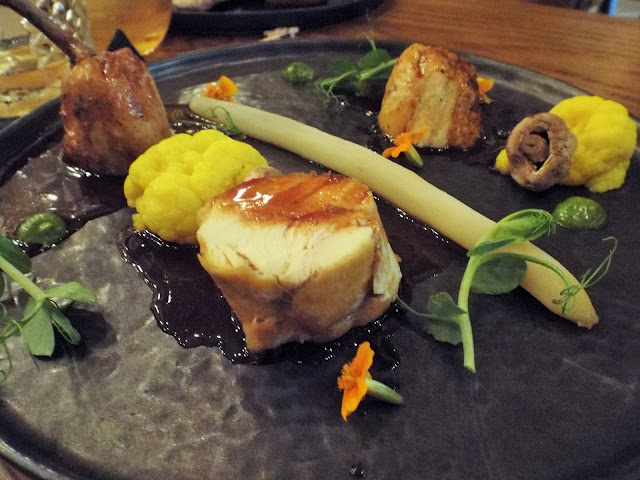 Fire lake grill house at the Radisson Blu Hotel Leeds