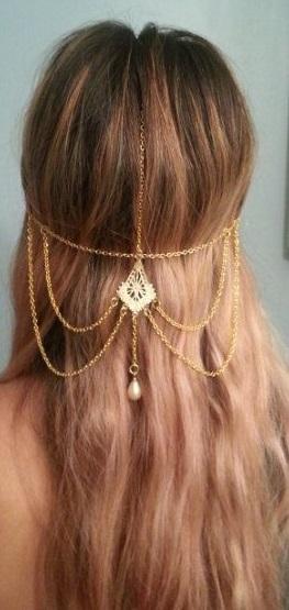 Joya para tu peinado de novia - Foto: www.etsy.com