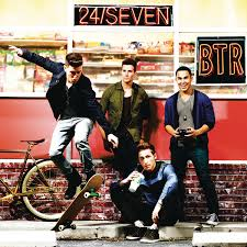 Capa do álbum Big Time Rush – 24/Seven (Deluxe Version) (2013)