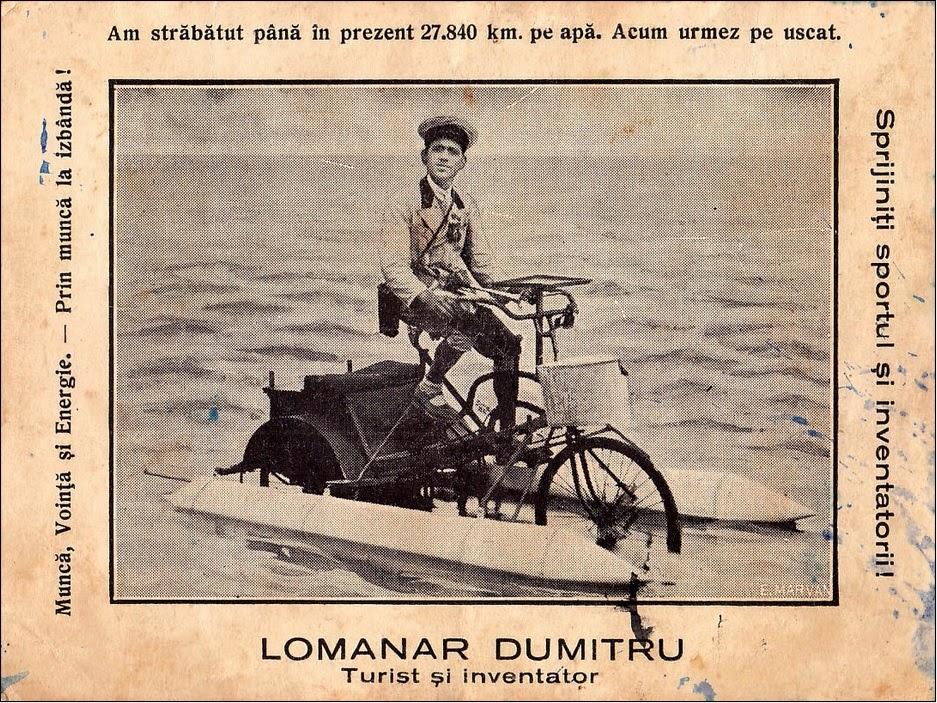 Lomanar Dumitru - turist si inventator