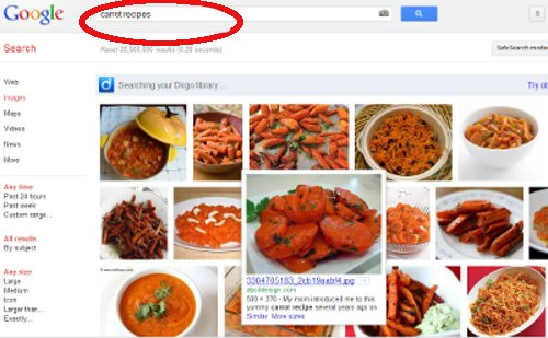Searching Images in Google