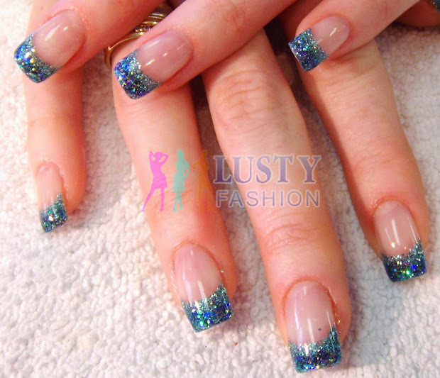 professional with gel nail