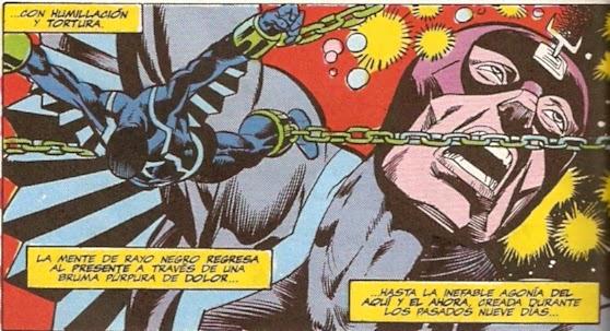 Rayo Negro torturado