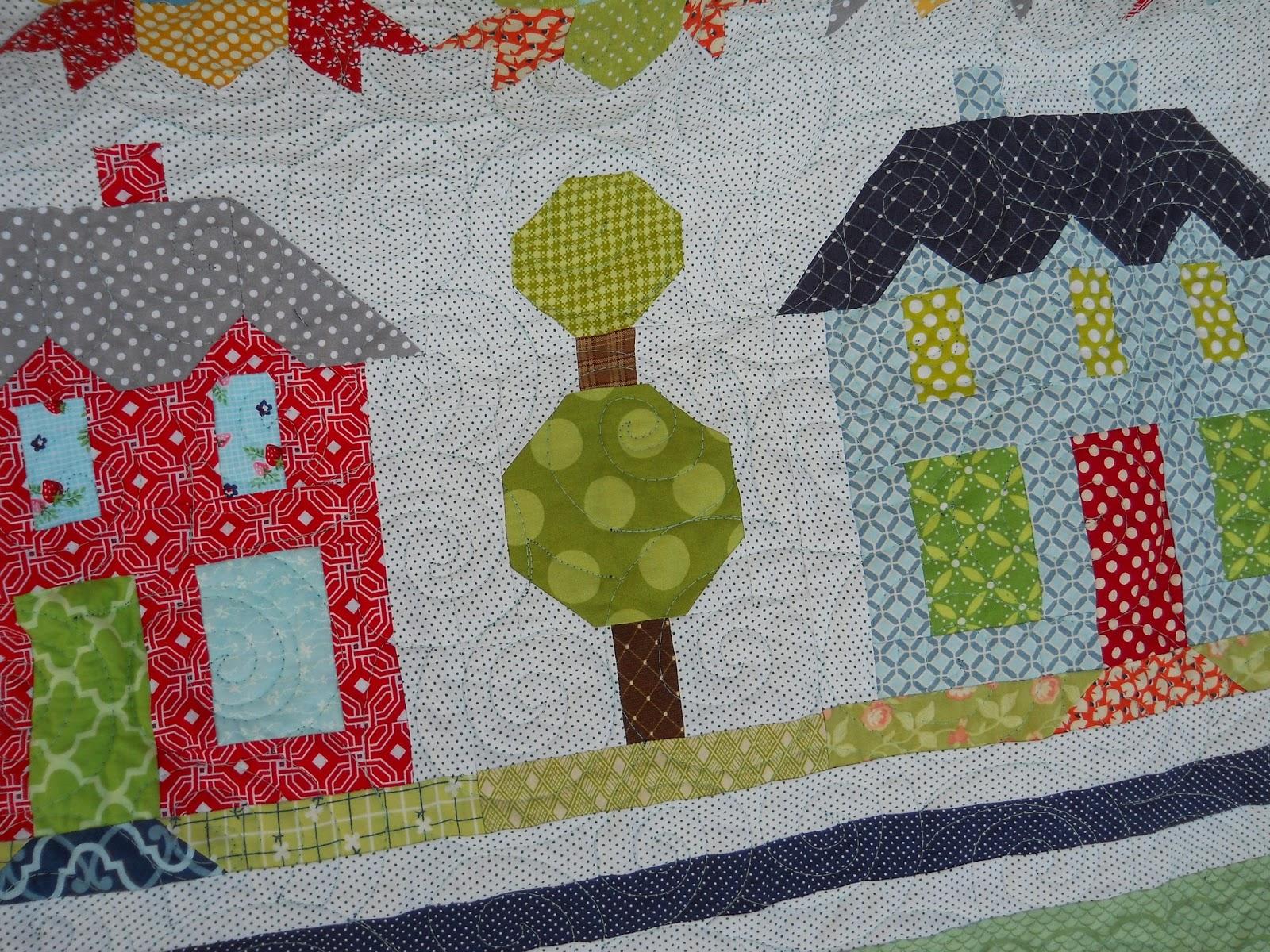 Polka Dot Quilter: Farm House Lane Quilt from Farm Girl Vintage Book : the quilt farm - Adamdwight.com