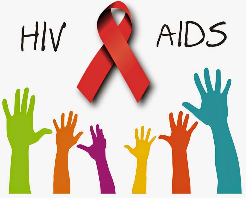 HIV and AIDS rates are down