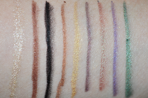 Sigma Extended Wear Eyeliner Swatches