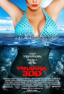 Poster de Piraña 2 3D / Piraña 2DD / Piranha 3DD