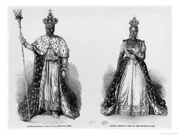 Faustino I y la Emperatriz Adelina