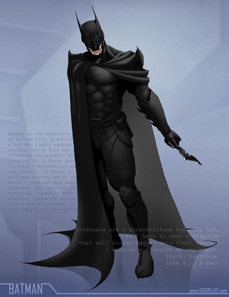 Batman by Ogi Grujic
